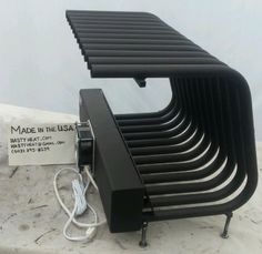 spitfire fireplace. this listing is for a fireplace furnace grate heater measuring 20 wide, 16 tall, 12 deep. spitfire