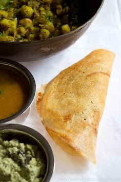 Masala Dosa Recipe - Learn how to make Masala Dosa Recipe with Step by Step Photos. South Indian Masala Dosa Recipe. For making dosa the batter has to be slightly thin than the idli batter.