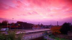 West Hampstead station at sunset. See more photos of London in the autumn: http://timeout.com/autumnphotos