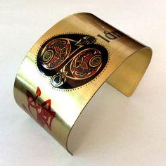 Celtic Irish Jewellery Cuff Bracelet Celtic by GalwayGirlGifts Gold Bangles, Bangle Bracelets, Handmade Jewelry, Unique Jewelry, Handmade Gifts, Irish Jewelry, Irish Celtic, Jewellery, Trending Outfits