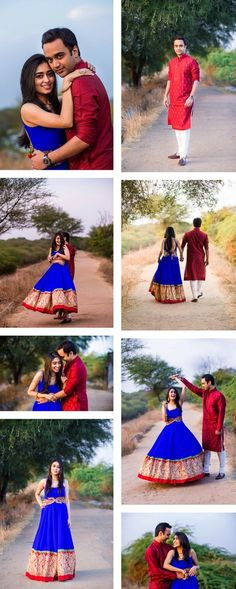 Pre wedding shoot in the woods. Gorgeous blue Indian an Pre Wedding Poses, Pre Wedding Shoot Ideas, Pre Wedding Photoshoot, Wedding Couples, Indian Wedding Poses, Prewedding Photoshoot Ideas, Indian Photoshoot, Cute Couple Poses, Couple Photoshoot Poses