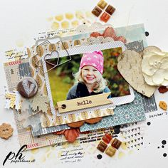 layers. clusters. buttons. stamps. embellishments. single picture.