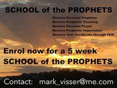 SCHOOL of the PROPHETS: FEB 2017