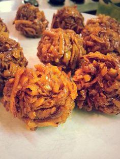 CARAMEL COCONUT BALLS....made with fresh coconut...popular in bothGhanaand Nigeria