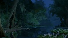 Background from Princess and the Frog