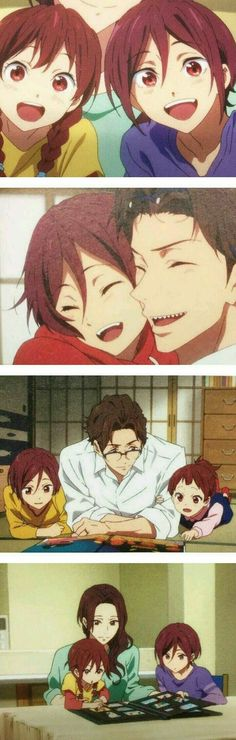Aww!!! It's Rin and Gou with their parents❤️