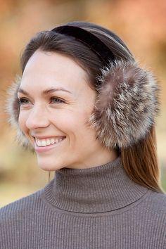 Raccoon Fur Earmuffs | Overland