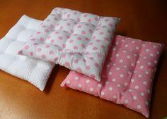 Mini-bolsinhas e mini-futons | Luciana Murta