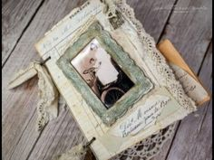 Flip through video of a two ring bound junk journal (SOLD thank you) - YouTube