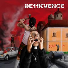 Booklet for HC/Punk group Delikvence 11