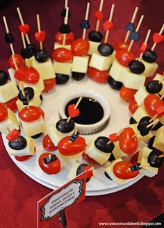 Cheese and tomatoes and olives casino party foods, casino night party, casino theme parties Adult Party Themes, Party Food Themes, Casino Party Decorations, Casino Party Foods, Casino Theme Parties, Prom Themes, Themed Parties, Party Ideas, Las Vegas Party