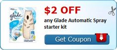 $2.00 off any Glade Automatic Spray starter kit