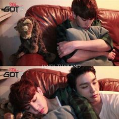 Sleepy Mark&Jr. Got 7