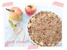 Apple - Crumble mit Dinkel