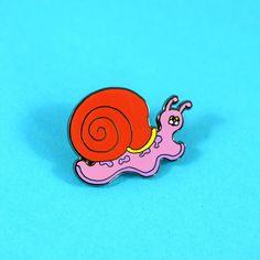 Snail Pin by Wakana Yamazaki