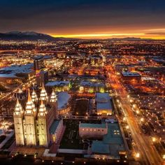 Downtown Salt Lake City by Scott Jarvine