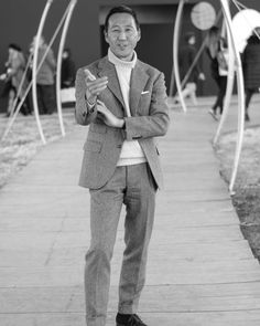 toquote:  Street style Pitti Uomo day 2. @kamoshita aka Mr Cool. #menswear #pitti #pittiuomo #pitti89 #pittiuomo89 #firenze