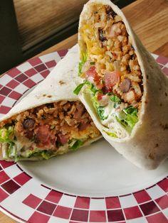 Bean and Rice Burritos.