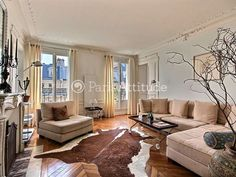 Rent Apartment in Paris 75003 - 92m² Marais - ref 12117