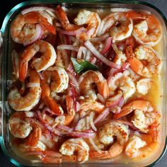 Spiced Pickled Shrimp from @Aida Mollenkamp