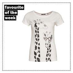 T-Shirt mit Giraffen-Print von zero #zerofashion #giraffe #shirt