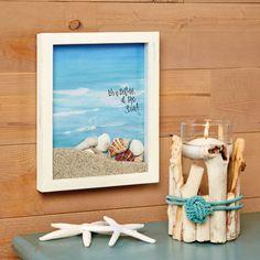 Beach Theme Shadowbox
