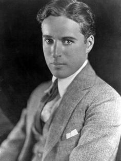 Charlie Chaplin was a very handsome man!