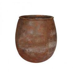 Mica Outdoor pot Jille 50 x 45 cm roest
