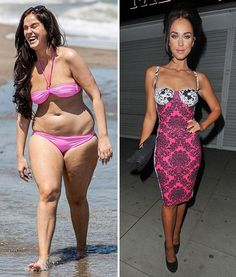 Vicky Pattison shows off her post-Geordie Shore diet before-and-after weight…