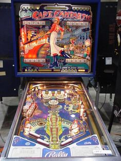 A quarter could last a half an hour if you were good! Captain Fantastic Elton John, Benny And The Jets, Silly Love Songs, Crocodile Rock, Pinball Wizard, 1970s Childhood, Penny Arcade, Arcade Games, Pinball Games