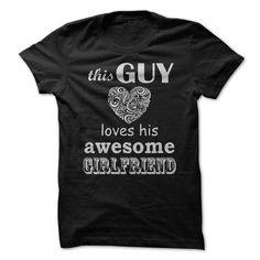 Guy Love Girlfriend - #photo gift #bridal gift. GET => https://www.sunfrog.com/LifeStyle/Guy-Love-Girlfriend.html?68278