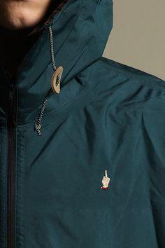 Undercover Stop Making Sense S S 2013 Gore-Tex Raincoat Mantle Men Dress 356eb36e592e