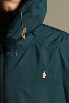 madamecuriewasmymother:    Undercover Stop Making Sense S/S 2013 Gore-Tex Raincoat/Mantle