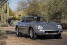 The Ferrari 275 GTB/4 was the first Ferrari to be offered for sale with a transaxle, and it would also be the first offered without wires wheels due to concerns about it shredding the spokes – although they were available as an optional extra. Externally, the design clearly took no small amount of inspiration from...