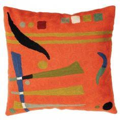 Orange Abstract >   Abstract Art Cushions >    Cushions >    Home >   Zaida UK Ltd