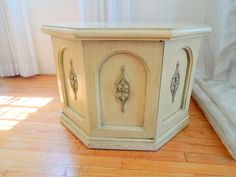 Shabby Chic Octagonal Vintage Coffee Table Los Angeles By HouseCandyLA,  $99.00