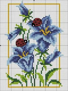 ideas for embroidery stitches letters flower Cross Stitch Cards, Beaded Cross Stitch, Cross Stitch Borders, Crochet Cross, Modern Cross Stitch Patterns, Cross Stitch Animals, Cross Stitch Flowers, Cross Stitch Designs, Cross Stitching