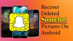 Worried of lost Snapchat pictures on Android? Learn easy and effective methods to recover deleted Snapchat memories on Android Snapchat Picture, Ipod Touch, Recovery, Android, Lost, How To Get, Memories, Iphone, Learning