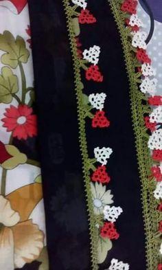 Bicolor bow edge