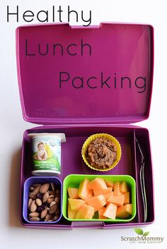 Healthy Bento Box School Lunch Packing Ideas