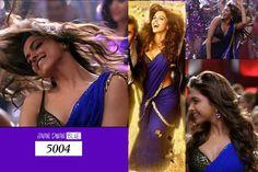 Bollywood Beautiful Deepika Padukone Yeh Jawani Hai Diwani Designer Saree Sari