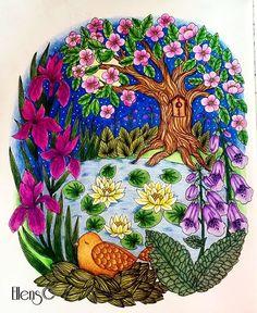 Summernights #summernights #blomstermandala #mariatrolle #maria_trolle…