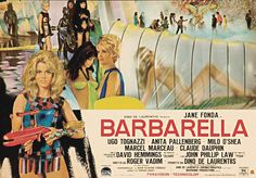 Barbarella Posters | Long Gone But Not Forgotten