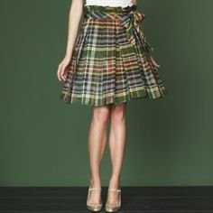Darcy plaid skirt from J Crew
