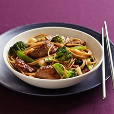 Beef and Brocolli Lo Mein. Made it. It was fantastic and super quick and easy. I used flat iron steak. Everyone loved it.