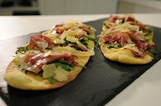 Try the Crispy Flatbread @Harry Dent Stuart O'keeffe prepared on our TV series today!