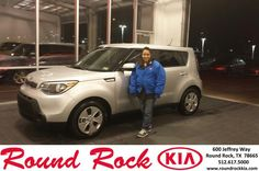 https://flic.kr/p/EhiTuZ | Happy Anniversary to Lisa on your #Kia #Soul from Greg Galindo at Round Rock Kia! | deliverymaxx.com/DealerReviews.aspx?DealerCode=K449