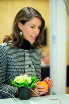 Princess Marie of Denmark opening the Mind Factory by Ecco in Toender, 17.02.2015