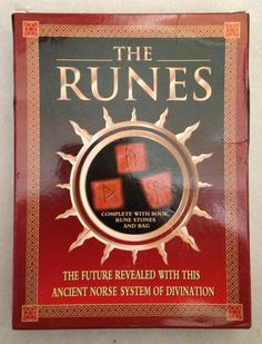The Runes - Deluxe Box Set - By Horik Svensson ~ $30.00  The Runes are a simple to use and easy to understand method of divination based on an ancient script of the Norse World. The Runes can be used to help solve a dilemma or problem, or to enable you to focus calmly on a difficult situation and so work towards resolving it.  You'll be amazed at how accurate the readings are and how they pinpoint exactly what you can do to resolve a troubling situation.