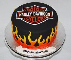 Harley Davidson Cake By Marniela on CakeCentral.com